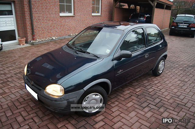 1995 opel corsa grand slam car photo and specs. Black Bedroom Furniture Sets. Home Design Ideas