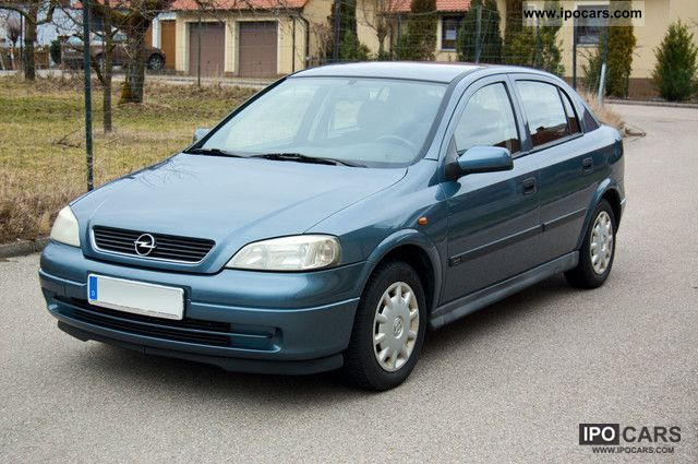 1998 Opel Astra 1 6 16v Elegance Car Photo And Specs