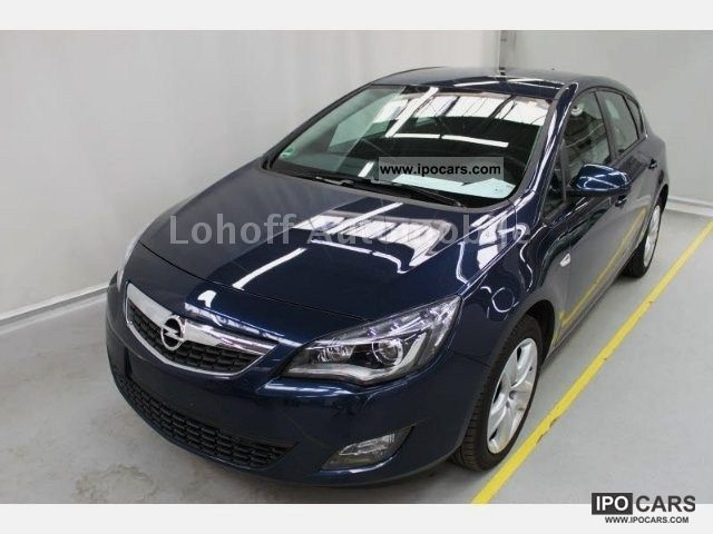 2011 Opel  Astra 1.4T * Xenon * 2xAGR * Klimaautom * PDC * BC * Sitzhz Limousine Employee's Car photo