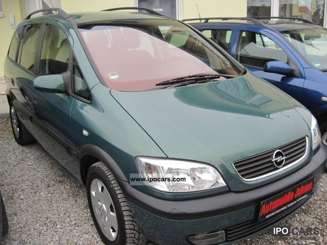 2001 opel zafira 1 8 16v edition 2000 car photo and specs. Black Bedroom Furniture Sets. Home Design Ideas