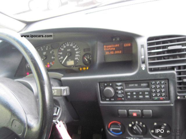Opel Zafira V Edition Lgw on 2000 Volvo Turbo Engine