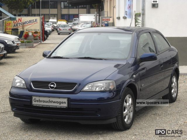 2003 opel astra 1 6 fresh zustand 1 hand top car photo and specs. Black Bedroom Furniture Sets. Home Design Ideas