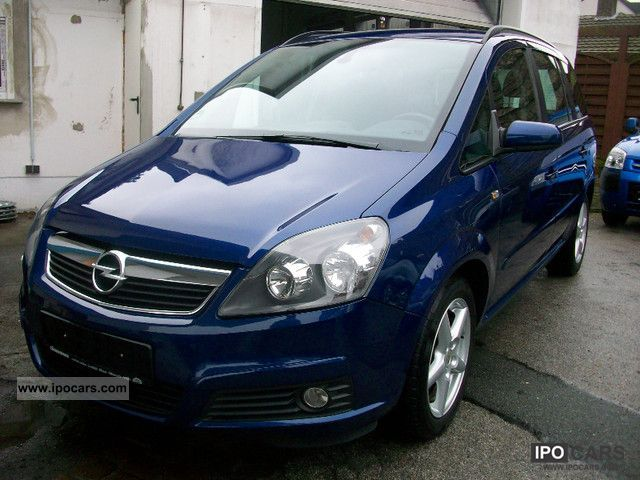 2006 opel zafira 1 9 cdti edition climate euro 4 scheckhef car photo and specs. Black Bedroom Furniture Sets. Home Design Ideas