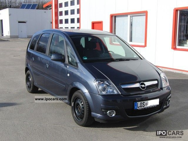 2009 opel meriva 1 4 innovation 110 years car photo and specs. Black Bedroom Furniture Sets. Home Design Ideas