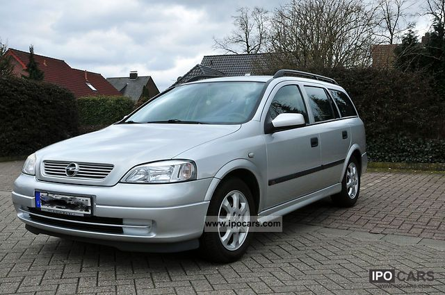 2002 opel astra 1 6 caravan car photo and specs. Black Bedroom Furniture Sets. Home Design Ideas