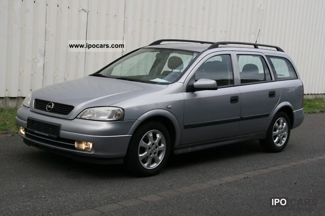 2002 opel astra caravan 2 0 dti selection 07 2002 car photo and specs. Black Bedroom Furniture Sets. Home Design Ideas