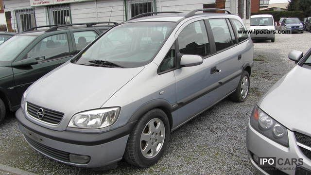 2000 opel zafira 2 0 dti elegance car photo and specs. Black Bedroom Furniture Sets. Home Design Ideas