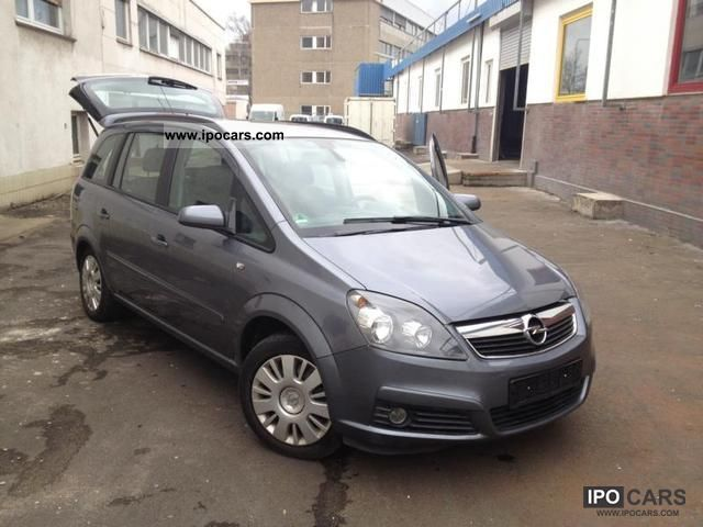 2006 opel zafira 1 8 edition car photo and specs. Black Bedroom Furniture Sets. Home Design Ideas