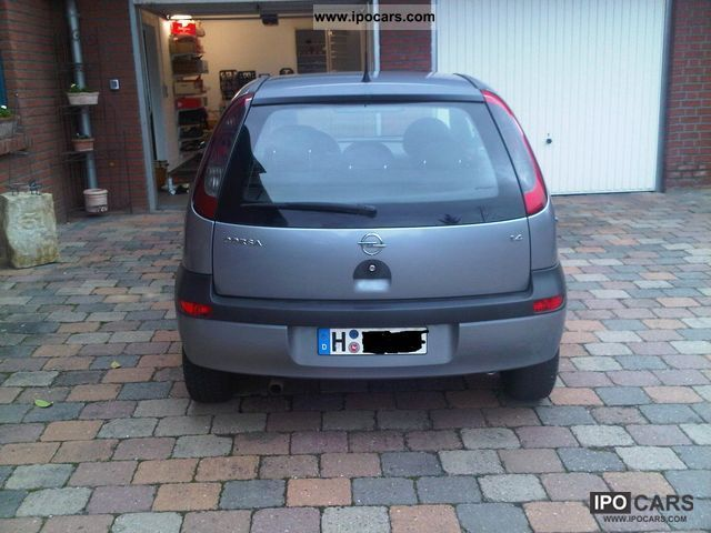 2003 opel corsa 1 4 16v sport car photo and specs. Black Bedroom Furniture Sets. Home Design Ideas