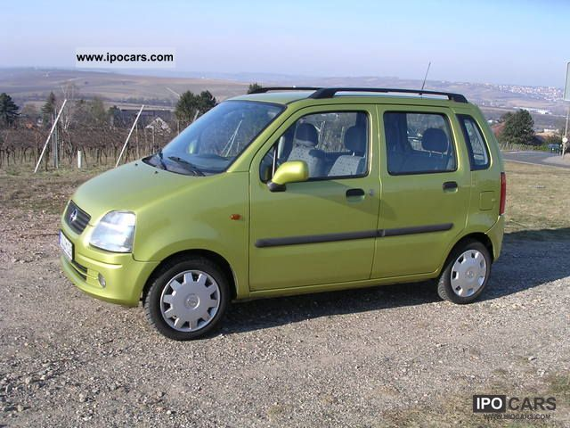 2001 opel agila 1 2 16v comfort car photo and specs. Black Bedroom Furniture Sets. Home Design Ideas
