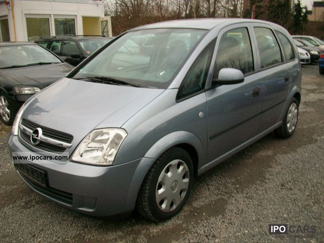 2004 opel meriva 1 7 cdti air 4 car photo and specs. Black Bedroom Furniture Sets. Home Design Ideas