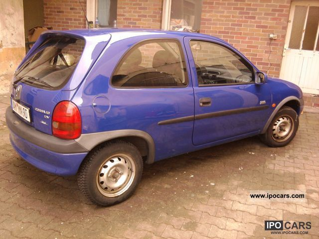 2000 opel corsa 1 0 12v car photo and specs. Black Bedroom Furniture Sets. Home Design Ideas
