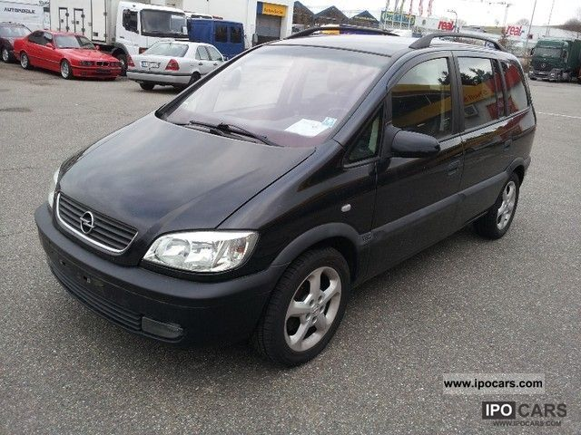 2002 opel zafira 1 8 dvd navi plus 7 seats car photo and specs. Black Bedroom Furniture Sets. Home Design Ideas