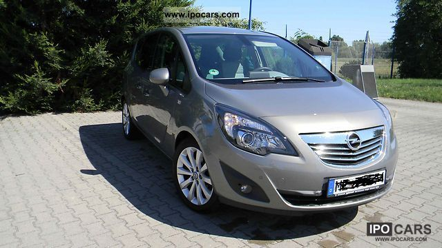 2010 opel meriva 1 7 cdti innovation car photo and specs. Black Bedroom Furniture Sets. Home Design Ideas