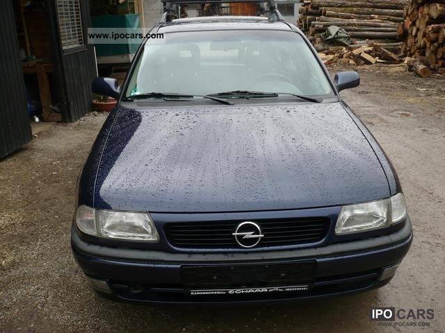 1998 Opel  Astra 1.6 Caravan Holiday Estate Car Used vehicle photo
