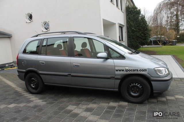 2004 opel zafira 1 6 njoy car photo and specs. Black Bedroom Furniture Sets. Home Design Ideas