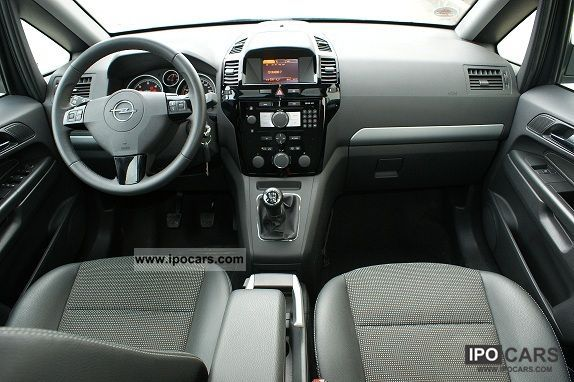 2008 Opel Zafira 1 9 Cdti Panorama Roof Car Photo And