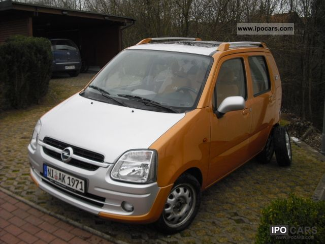Opel  Agila 1.2 16V Njoy gas 2003 Compressed Natural Gas Cars (CNG, methane, CH4) photo