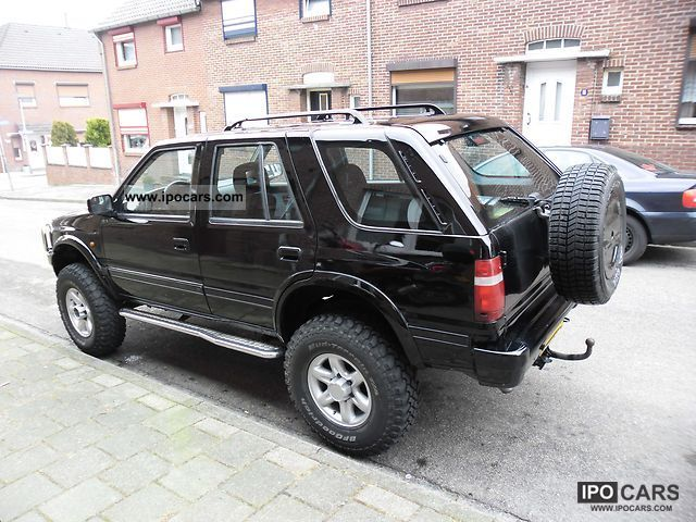 1996 Opel  Frontera 2.2 16V Off-road Vehicle/Pickup Truck Used vehicle photo