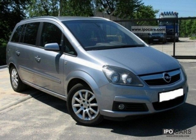 2005 opel zafira 1 9 cdti cosmo car photo and specs. Black Bedroom Furniture Sets. Home Design Ideas