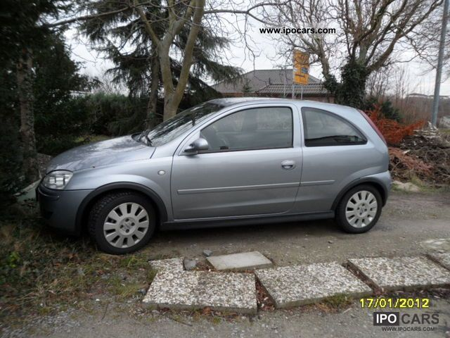 2005 opel corsa 1 2 16v car photo and specs. Black Bedroom Furniture Sets. Home Design Ideas