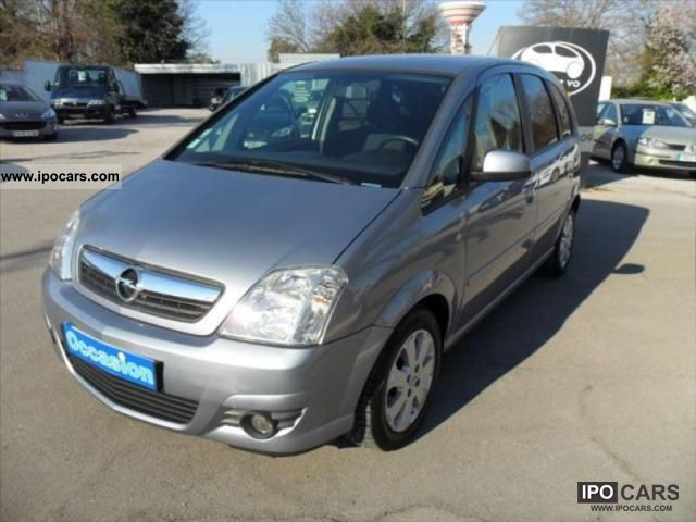2006 opel meriva 1 6 enjoy twinport car photo and specs. Black Bedroom Furniture Sets. Home Design Ideas