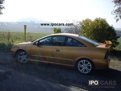 2000 Opel Astra Coupe 18 16v Car Photo And Specs