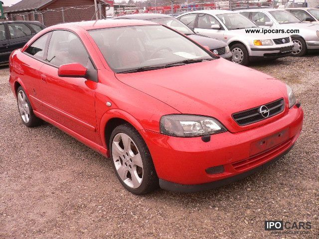 2004 opel astra coupe 2.2 16v linea rossa - car photo and specs