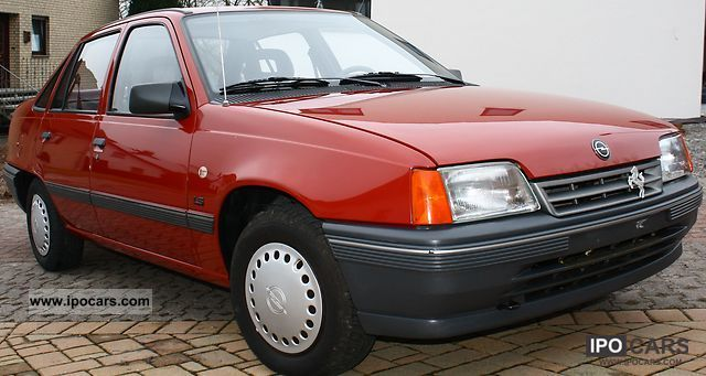 1990 Opel Kadett E Ls Car Photo And Specs