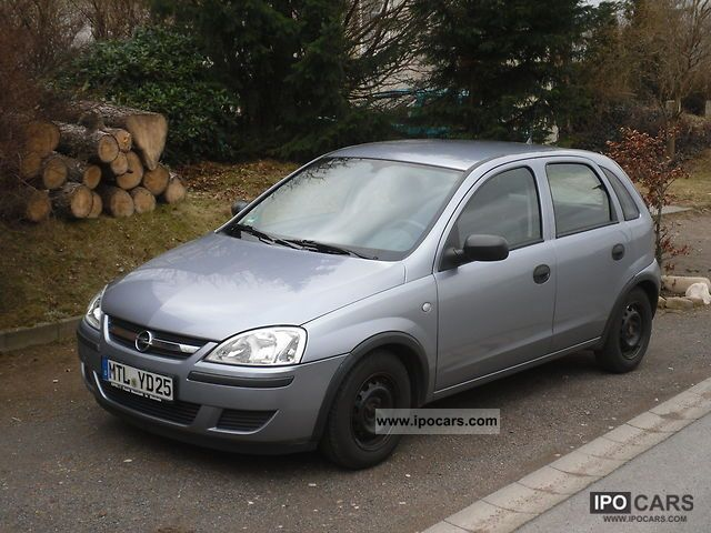 2004 opel corsa 1 0 related infomation specifications weili automotive network. Black Bedroom Furniture Sets. Home Design Ideas