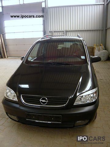2001 opel zafira 2 0 dti 16 v selection executive car photo and specs. Black Bedroom Furniture Sets. Home Design Ideas