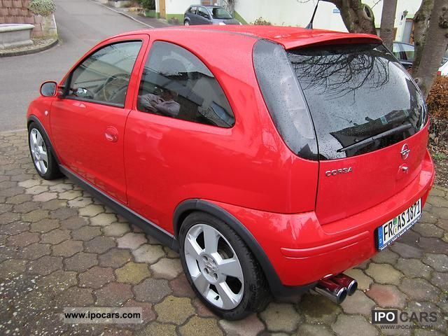 2003 opel corsa gsi 1 4 16v car photo and specs. Black Bedroom Furniture Sets. Home Design Ideas