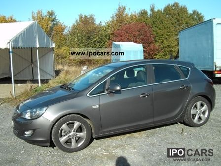 2010 opel astra 1 7 cdti dpf sport car photo and specs. Black Bedroom Furniture Sets. Home Design Ideas