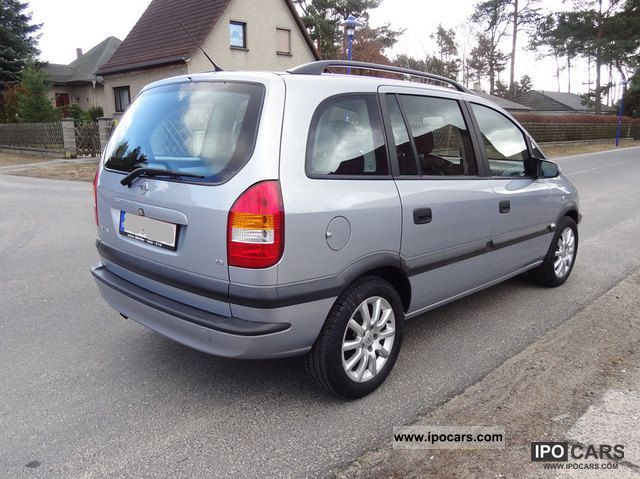 2002 opel zafira 1 6 comfort car photo and specs. Black Bedroom Furniture Sets. Home Design Ideas
