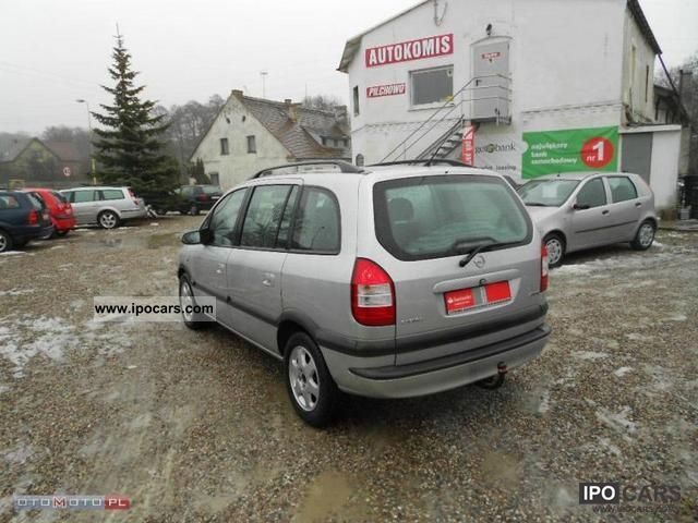 2003 opel zafira lift bezwypadek serwis pi kny car photo and specs. Black Bedroom Furniture Sets. Home Design Ideas