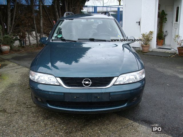 2001 Opel  Caravan Vectra 1.6 Edition 2000 Estate Car Used vehicle photo