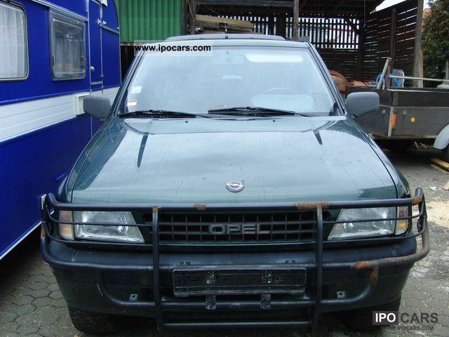 1993 Opel  Frontera 2.0i Sport Off-road Vehicle/Pickup Truck Used vehicle photo