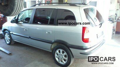 Opel  Zafira 1.6 CNG Njoy with Style Package 2004 Compressed Natural Gas Cars (CNG, methane, CH4) photo