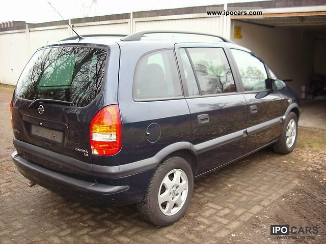 2003 opel zafira 1 8 elegance climate 7sitzer car photo and specs. Black Bedroom Furniture Sets. Home Design Ideas