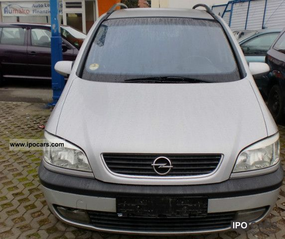2001 opel zafira 2 0 dti selection free car photo and specs. Black Bedroom Furniture Sets. Home Design Ideas