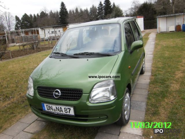 2002 Opel  Agila 1.0 12V Small Car Used vehicle photo