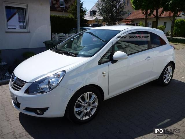 2010 opel corsa 1 2 16v ecoflex easytronic 111 years car photo and specs. Black Bedroom Furniture Sets. Home Design Ideas