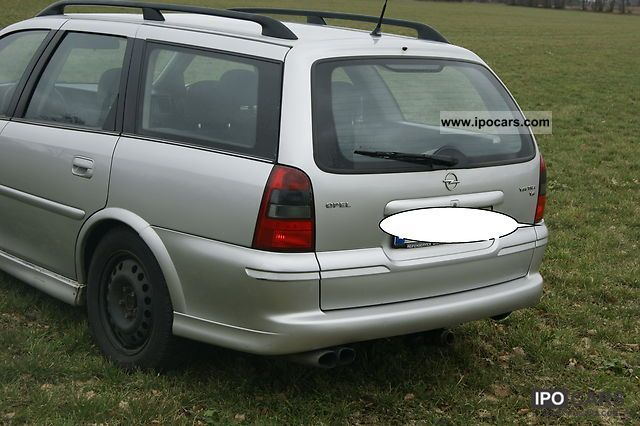 Good ... 2000 Opel Vectra Caravan Sport 2.0 Estate Car Used Vehicle Photo ...