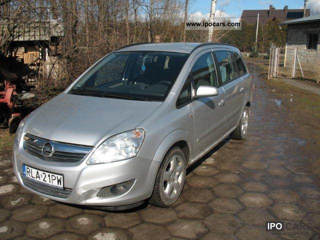 2008 opel zafira car photo and specs. Black Bedroom Furniture Sets. Home Design Ideas