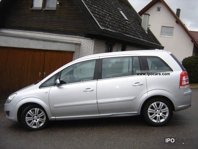 2009 opel zafira 1 9 cdti sport package innovation recaro car photo and specs. Black Bedroom Furniture Sets. Home Design Ideas