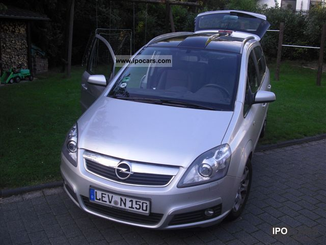 2006 opel zafira 1 9 cdti cosmo car photo and specs. Black Bedroom Furniture Sets. Home Design Ideas