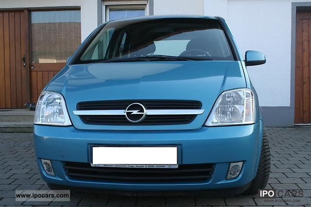2004 opel meriva 1 7 cdti car photo and specs. Black Bedroom Furniture Sets. Home Design Ideas