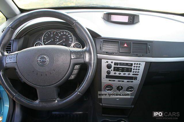 2004 Opel Meriva 1 7 Cdti Car Photo And Specs