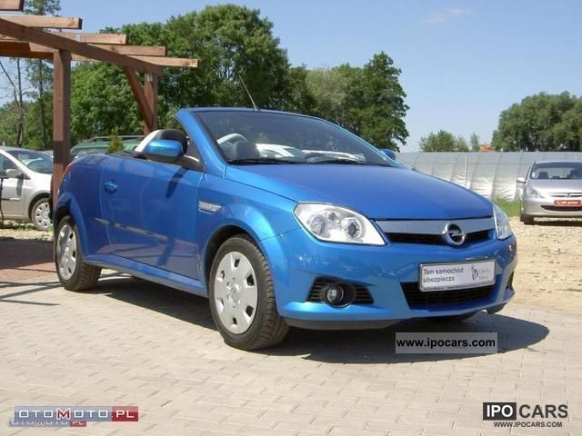 2006 Opel  Tigra 1.8i Convertible AIR piękne Cabrio / roadster Used vehicle photo