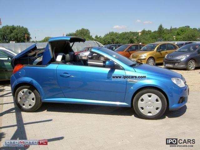 2006 opel tigra convertible air pi kne car photo and specs. Black Bedroom Furniture Sets. Home Design Ideas